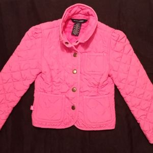 🌺🌼 Ralph Lauren Toddler Girls Pink Jacket 🌺🌼